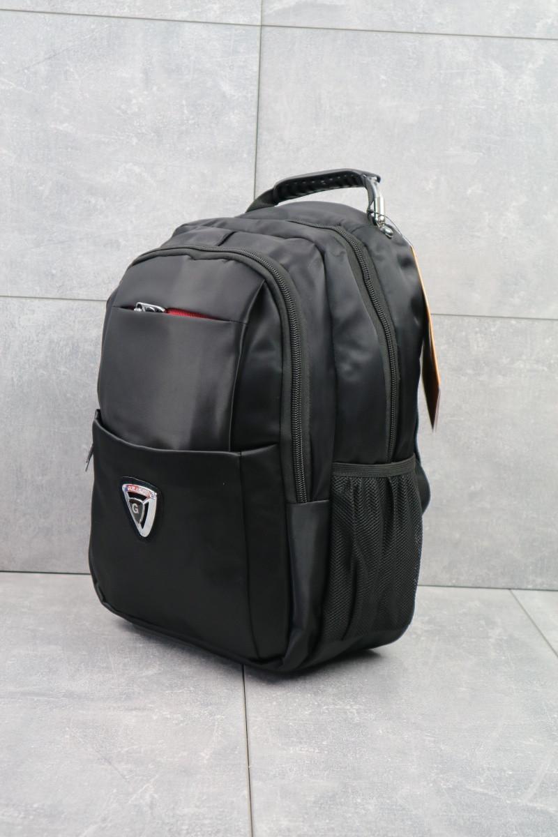 Рюкзак мужской Gorangd повседневный большой вместительный черный