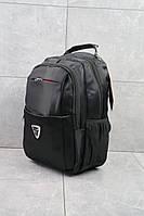 Рюкзак мужской Gorangd повседневный большой вместительный черный, фото 1