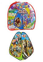 Палатка 2 вида, 76*76*91см, в сумке 39*38см /48-2/(A999-159/161)