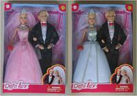 Кукла DEFA 29см 8305 невеста с женихом 2в.кор.22,5*5,5*32,5 ш.к./24/(8305B)