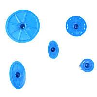 Грибки клеевые (5ШТ) синие набор насадок PDR