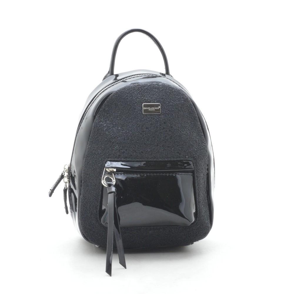 676769508559 Рюкзак женский городской David Jones черный - Kit Bag - женские сумки,  кошельки и клатчи