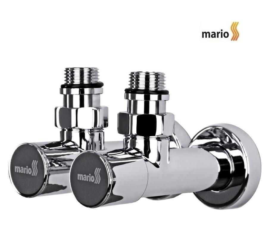 """Кран угловой удлиненный, G1/2""""( комплект 2шт) MARIO"""