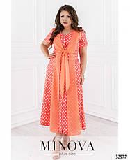 Платье женское летнее, размер:56-64, фото 3