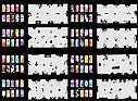 Набор трафаретов 20 шт. для nail art №6, фото 2