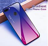 Чохол-накладка TPU+Glass Gradient HELLO для Xiaomi Mi 8 Lite / Є скла /, фото 5