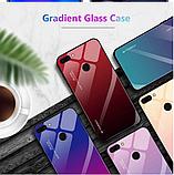 Чохол-накладка TPU+Glass Gradient HELLO для Xiaomi Mi 8 Lite / Є скла /, фото 7