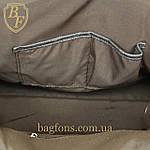 Дорожная сумка искусственная кожа серая качество люкс, фото 6