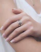 Рыбки - серебряное кольцо