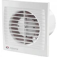 Вентилятор осевой Вентс 100 ДТ, вентилятор на подшипнике с таймером, вентилятор бытовой.