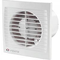 Вентилятор осевой Вентс 100 ДТ, вентилятор на шариковом подшипнике с таймером, вентилятор бытовой.