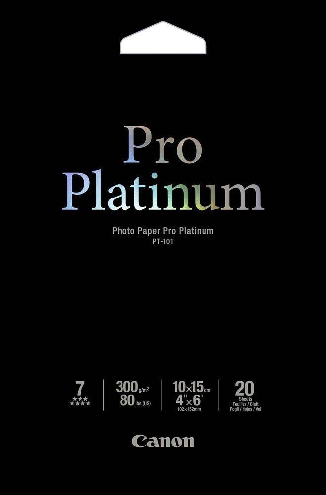 Бумага Canon Pro Platinum Photo Paper, 20 лист. (2768B013)