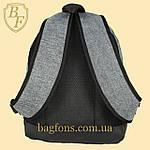 Рюкзак городской спортивный серый  , фото 6