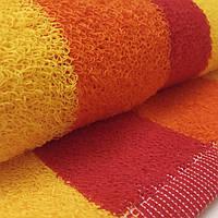 Полотенце кухонное махровое красное оранжевое желтое 50*30