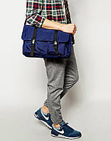 Сумка на плече (велика вело-сумка) - Asos - Satchel - Royal, фото 1