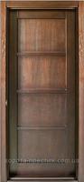 Двери деревянные №2 (глухое, стекло)