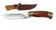 Нож охотничий 2225 ADWP. Рукоять - красное дерево.,охотничьи ножи,товары для рыбалки и охоты,оригинал