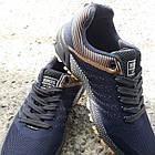 Кросівки Bonote р. 44 текстиль темно-сині, фото 2