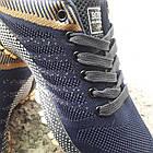 Кроссовки Bonote р.44 текстиль сетка тёмно-синие, фото 2