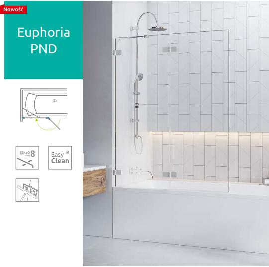 Шторка для ванны Radaway Euphoria PND