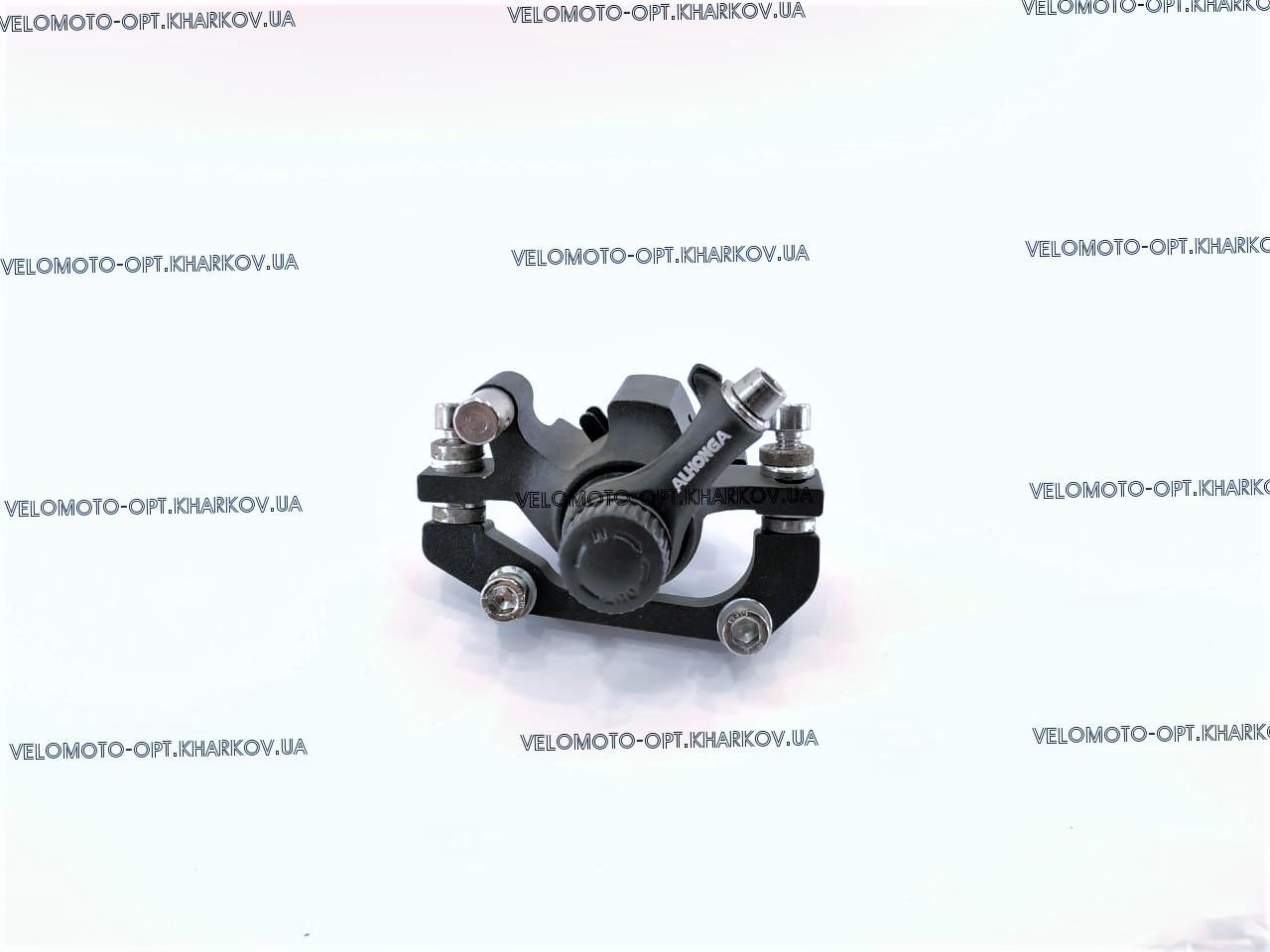 Калипер дисковый механический тормоз Alhonga 140/160, Тайвань