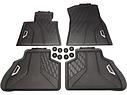 Комплект оригинальных ковриков салона для BMW X5 (G05) черные (51472458551 / 51472458552), фото 3