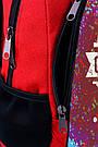 Рюкзак школьный Zaino с принтом Art can change your Life.(505), фото 4