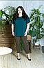 Літній костюм блузка з капрі, з 48 по 98 розмір
