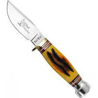 Нож нескладной 2301 HBJR. Рукоять - кость-быка,охотничьи ножи,товары для рыбалки и охоты,оригинал