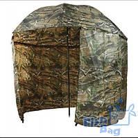 Зонт для рыбака 2окна ПВХ Дубок d2.2м