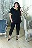 Летний костюм для пышных женщин, с 48 по 98 размер