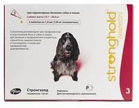 Капли Стронгхолд 120 для собак 10-20кг (красный) №3