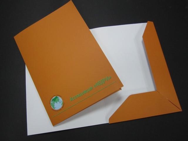 Изготовление папки бумаг в Днепре