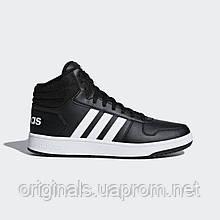 Мужские высокие кроссовки Adidas VS Hoops Mid 2.0 BB7207