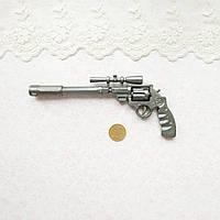 Пистолет декоративный пластиковый кукольный, 13.5*5.5 см, фото 1