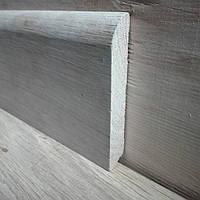 Плинтус дубовый, плинтус напольный из дуба евро 90*14мм