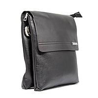 Стильная брендовая мужская кожаная сумка Polo Prime + Подарок