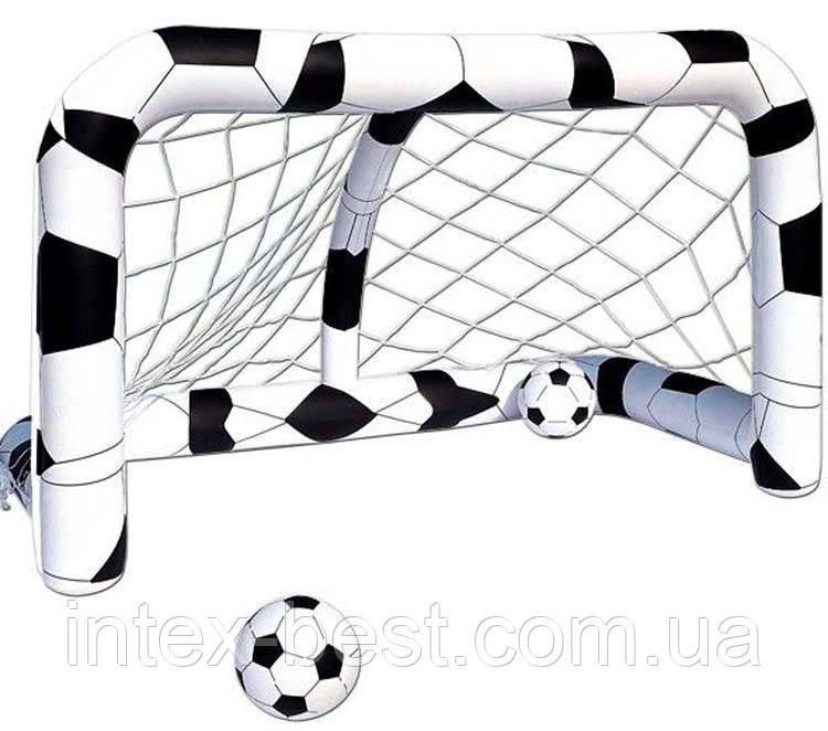 Bestway Надувные футбольные ворота 52058 (213х125х125 см)