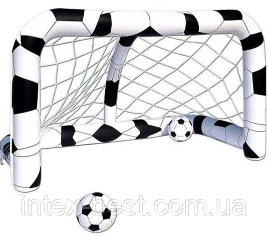 Bestway Надувные футбольные ворота 52058 (213х125х125 см), фото 2