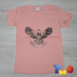 """Летняя футболка """"Hunter"""", трикотаж , для мальчика (10-11-12-12 лет)(4 ед. в уп.)"""