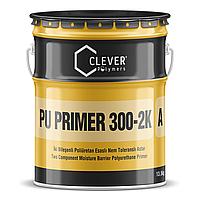 Влагостойкий двухкомпонентный полиуретановый грунт CLEVER PU PRIMER 300-2K (4 кг)