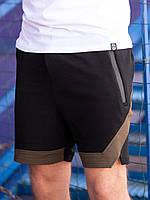 Спортивные шорты BEZET Avant-garde black/khaki'19