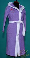 Халат махровый Ткань- 100% хлопок С вышивкой