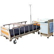 Кровать функциональная трехсекционная механическая для отделений интенсивной терапии OSD-94U, фото 3