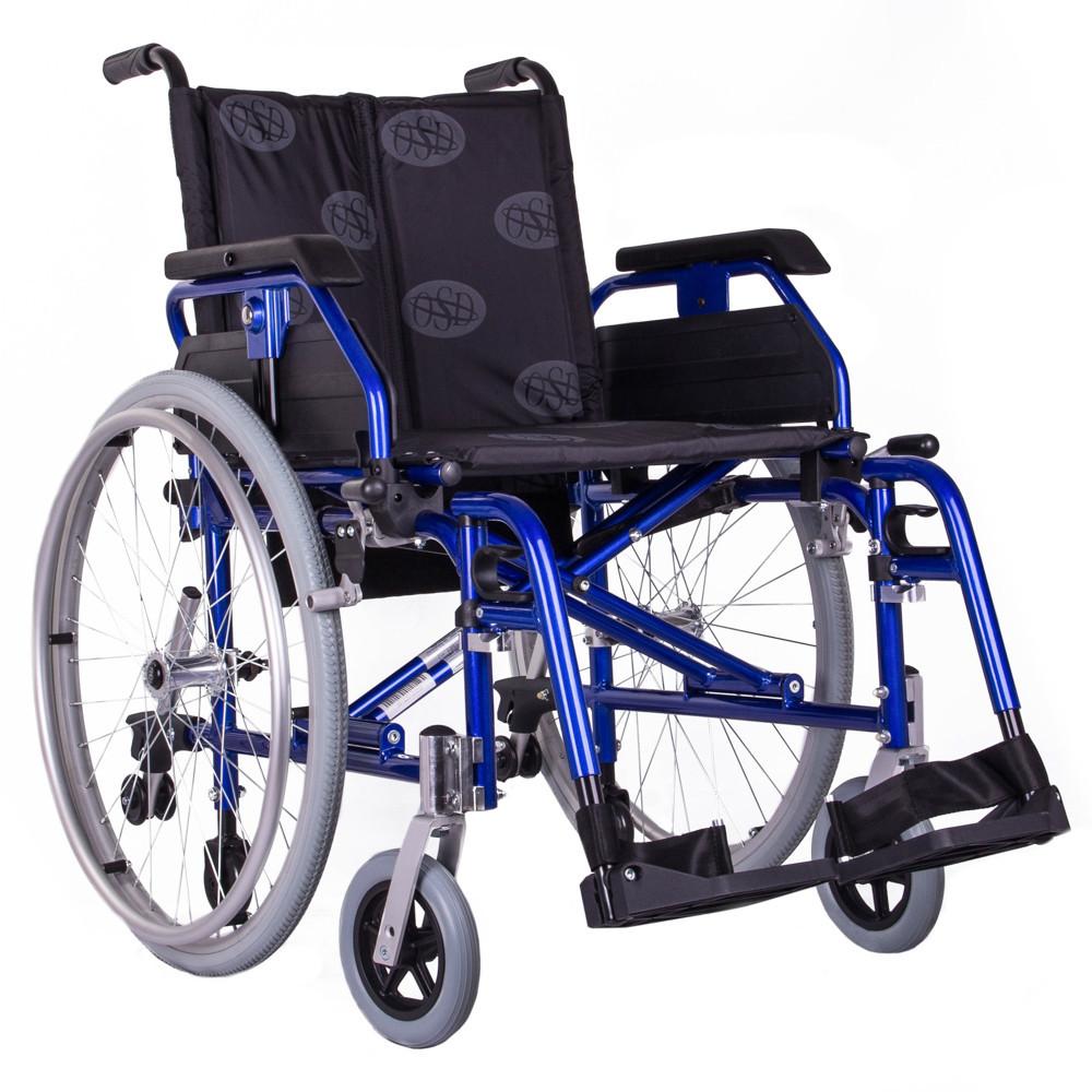 Коляска инвалидная облегченная «Light 3» синяя OSD (Италия)