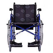 Коляска инвалидная облегченная «Light 3» синяя OSD (Италия), фото 2
