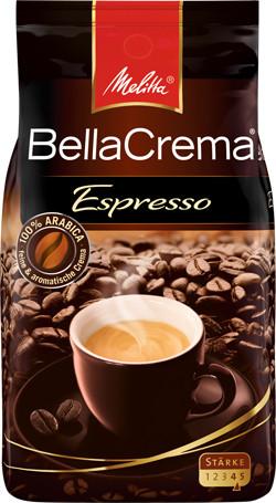 Кофе в зернах Melitta Bella Crema Espresso