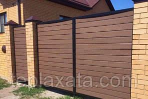 Доска из ДПК для забора Polymer&Wood PRIVAT 284х20х2200/3000