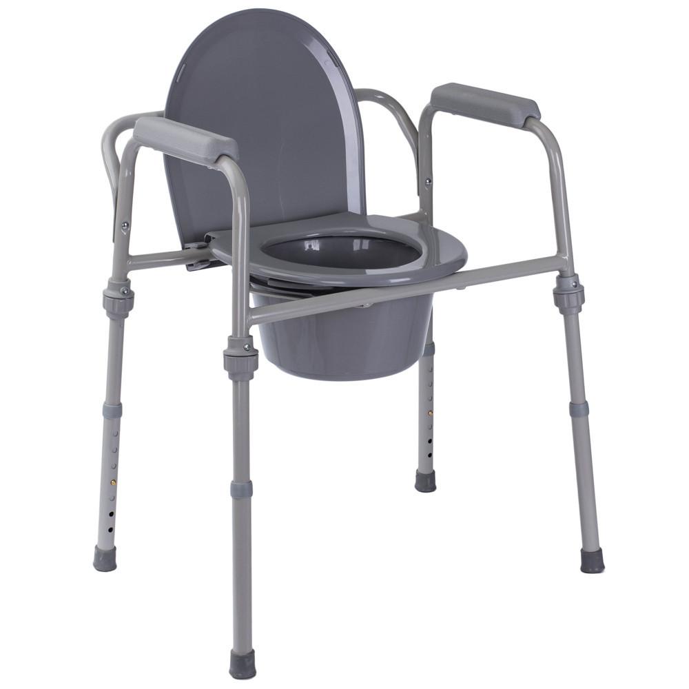 Стул-туалет нескладной стальной