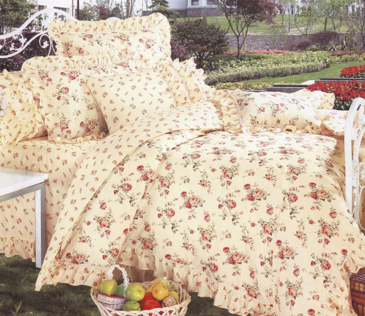 Двуспальное постельное белье Вилюта 9562 ранфорс